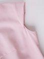 Pink Ruffled Elegant Shorts Sleeved Top