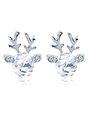 Cute Christmas Elk Earrings