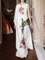 Swing Prom Floral Elegant Maxi Dress