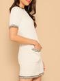 Sheath Elegant Solid Mini Dress
