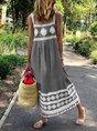 Bohemian Loose Casual Large Size Dress