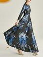 Floral A-Line & Elegant Maxi Dress
