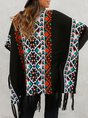 Women Tribal Long Sleeve Outerwear
