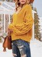 Women Vintage Turtleneck Long Sleeve Sweater