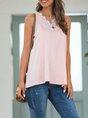 Pink Shift Solid Sleeveless Cami