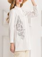Printed Graphic Shift Casual Blouse