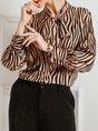 Stripes Printed Elegant Blouse