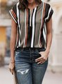 Summer Short Sleeve Casual Tunic