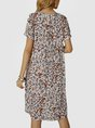 Sundress Floral Shift Holiday Mini Dress