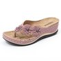 Summer Flower Holiday Flip Flop Slippers