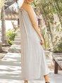Light Gray  Shift Beach  Maxi Dress