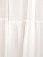 White Casual Cotton  Maxi Dress