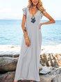 Blue Swing Casual Dresses