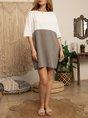 Shift Daytime Mini Dress
