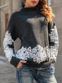 Long Sleeve Guipure Lace Sweater